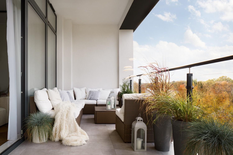 balcon blanco