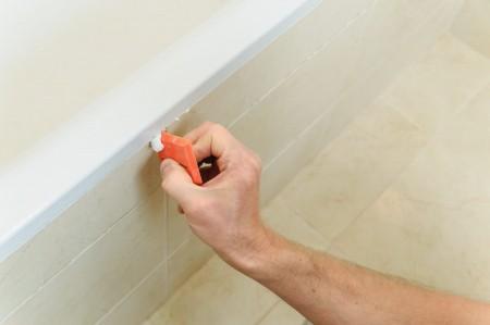 cómo pintar una bañera paso 1